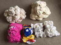 Reusable Little Lamb and Lollipop nappy bundle