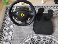 FERRARI Xbox Steering Wheel THRUSTMASTER