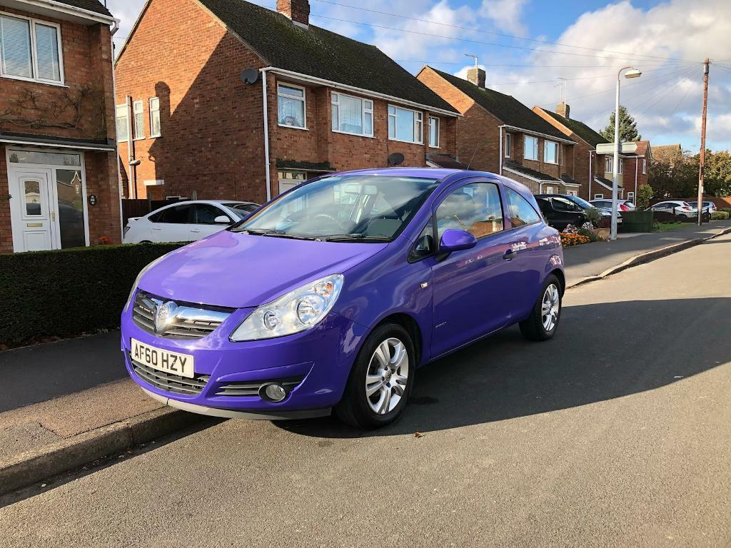 Vauxhall Corsa ecoflex, 1 lady owner from new £30 road tax