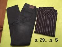 Men's shirt and Lee jeans