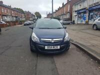 2011 VAUXHALL CORSA 1.4 SXI 5DR WITH ONLY 79K IN RARE BLUE 2 KEYS QUICK SALE OR PART EX