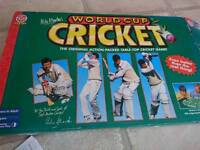 World Cup cricket game x2 retro