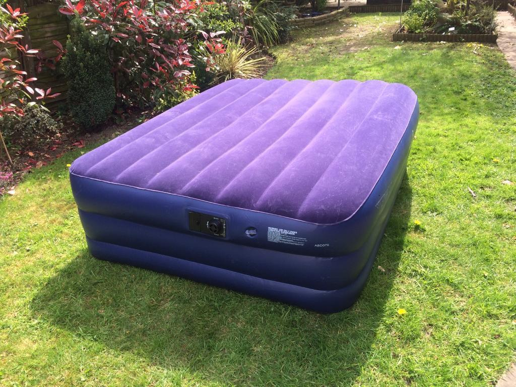 62699fa73be Gelert raised double air bed