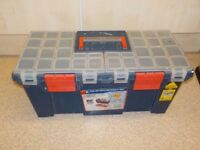 "ZAG 20"" ToolBox with Organiser and Tray ,"