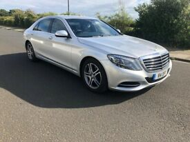 image for 2014 Mercedes S Class S350 Cdi Silver Like new drives perfect new shape