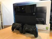 PlayStation 4 with Two official Controllers