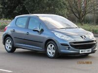 57 PEUGEOT 207 1.4 SE 78K NEW MOT PANORAMIC ROOF IDEAL FIRST TIME DRIVER