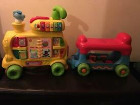 Little tikes alphabet train