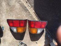 VW Mk1 Golf cabriolet rear lights