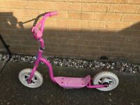 Pink scooter ideal for girl