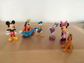 Disney store Mickey Mouse club Figures