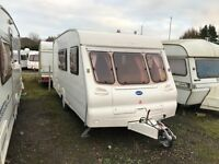 Bailey discovery /4 berth 2002 has all mod coms separate end shower and toilet