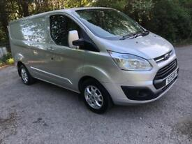 2013 Ford Transit Custom 270 Trend Etech 125 Ps Silver