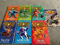 Beast Quest and Sea Quest books