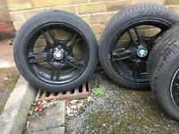BMW e39 J8-J9 wheels and tyres