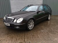 2009 MERCEDES E CLASS DIESEL ESTATE *** 6 MONTHS MOT *** similar to golf focus civic 308