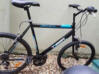 New mountain bike,riden twice.Excellent condition,large frame