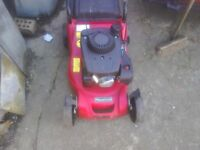Here for sale is a mountfield 414 great cutter petrol tex