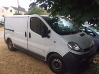 VAUXHALL VIVARO VAN FOR SALE (NO VAT)