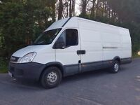 2011 IVECO DAILY EXTRA LWB HIGH TOP WILL COME WITH NEW MOT MASSIVE VAN LOADS OF ROOM