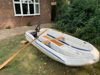 Twin Hull boat & Electric motor