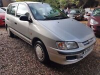 Mitsubishi Colt Space Star 1.3 5dr£495 p/x to clear GENUINE LOW MILEAGE