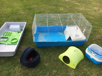 Guinea Pig Cage and equipment