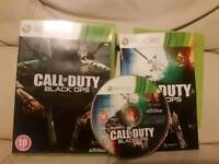 Call of duty black ops xbox 360 game