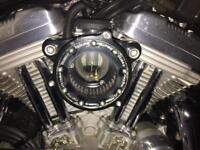 Harley Davidson exhaust and air cleaner