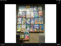 Disney vhs video joblot x26