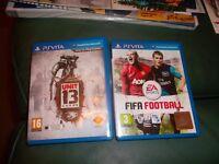 Unit 13 + Fifa Football. PS Vita Games