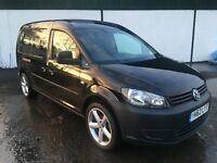 2012 CADDY MAXI 1 UK COMPANY OWNER 3 MONTHS WARRANTY *FINANCE AVAILABLE*