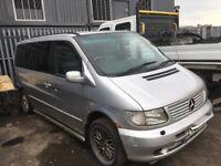 Mercedes vito Breaking mini bus seats alloy wheels