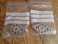 Sailing or dinghy high load blocks x two, 38mm sheaves new and unused