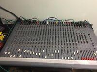 Soundcraft spirit studio 24-8-2 analogue mixing desk mixer