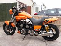 Yamaha VMAX custom, UK bike. Sell or swap old Brit bike, not modern type Triumph.