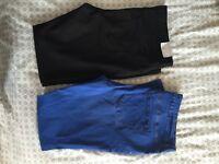 2x Super Skinny Newlook Maternity Jeans Size 16