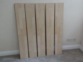 Maple Laminate Flooring (Set of 5)