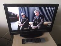 """Great condition 19"""" TOSHIBA LCD TV hd ready, freeview"""