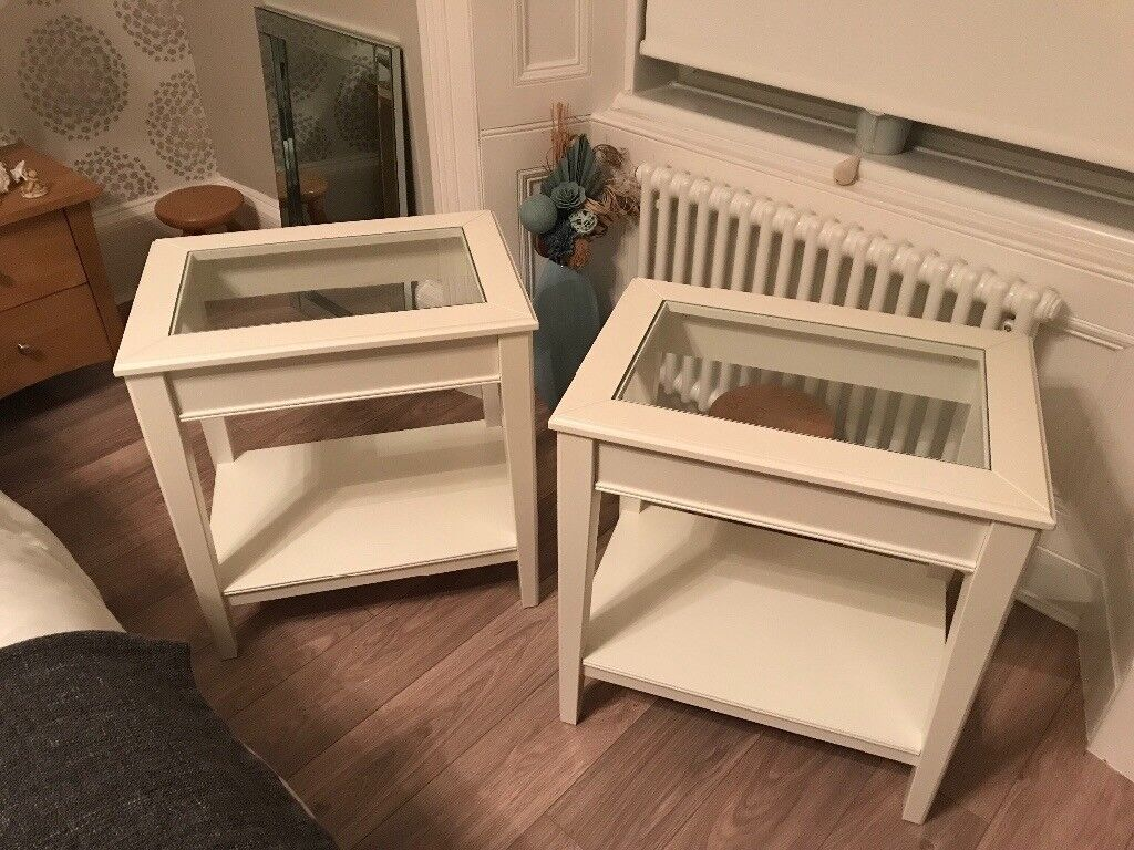 Ikea side tables excellent condition no marks