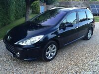 PEUGEOT 307 HDI STATION WAGON LOW MILEAGE MINT CONDITION 2005 (56 PLATE)