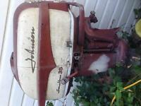 Old Johnson outboard motor