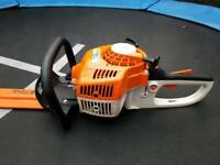 "stihl hs45 03.2016 24""double side blade hedge trimmer in excellent condition"