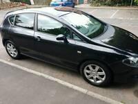 Low mileage new shape Seat leon black 1.9tdi stylance 55 reg