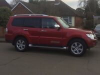 2008 Mitsubishi Shogun 3.2DiD, Warrior, Great Condition, Swap for Van