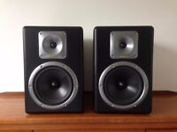 Tapco S-8 Active Studio Monitor Pair (made by Mackie)