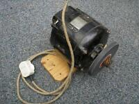 ELECTRIC MOTOR with grinding wheel....