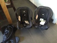 2 brand new joie juva car seats