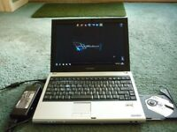 Toshiba Satellite U200 laptop