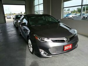 2015 Toyota Avalon Limited Heat/Cooled Front Seats, Heated Rear